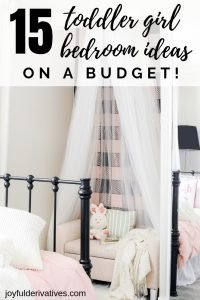 Pin Image for toddler girl bedroom ideas on a budget.