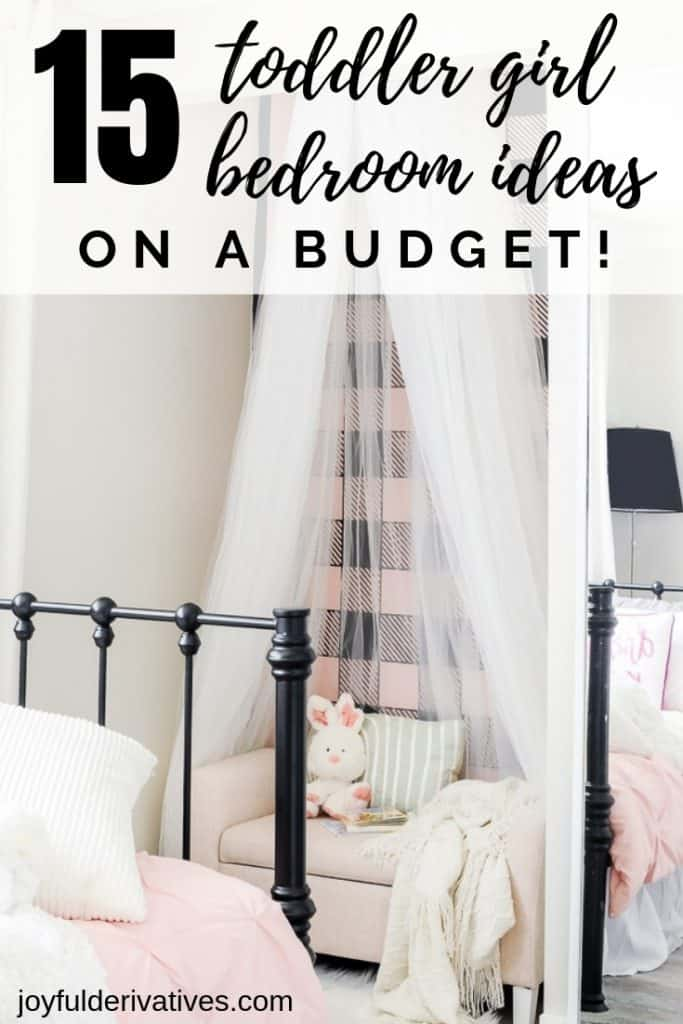 15 Easy Toddler Girl Bedroom Ideas on a Budget - Joyful ...