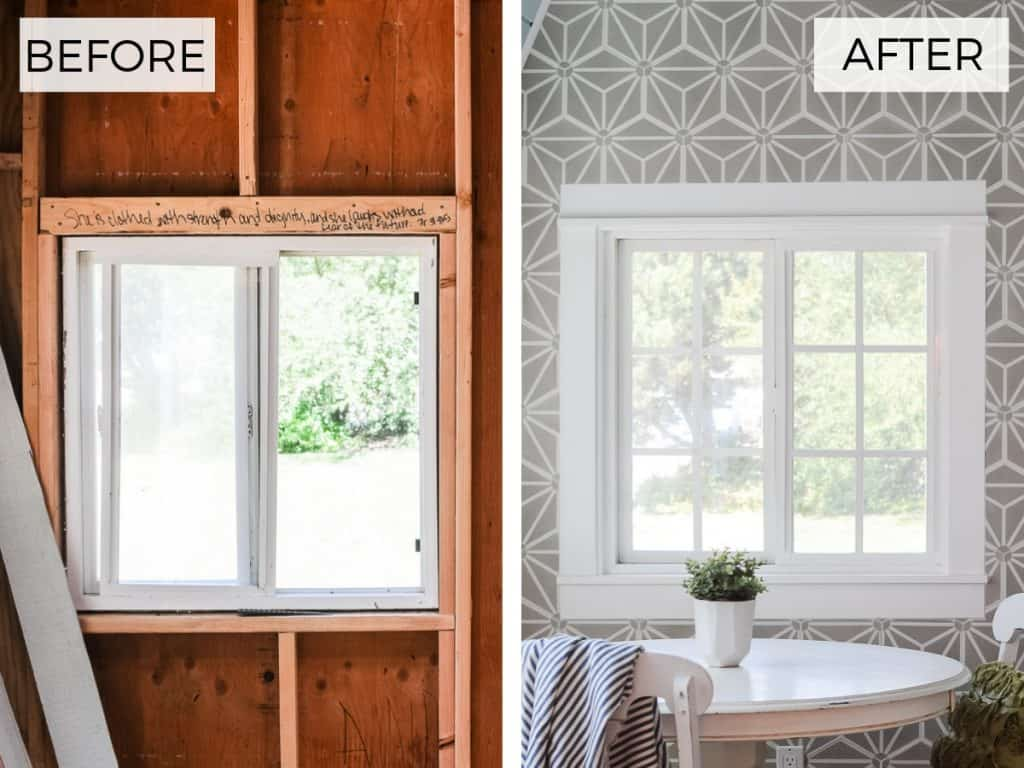 Here Are A Few Before Afters To Give You Glimpse At How The Grids Affect Style Of Windows From Inside