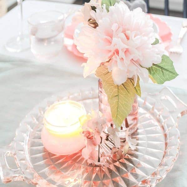 Easter Brunch Tablescape Featured Image