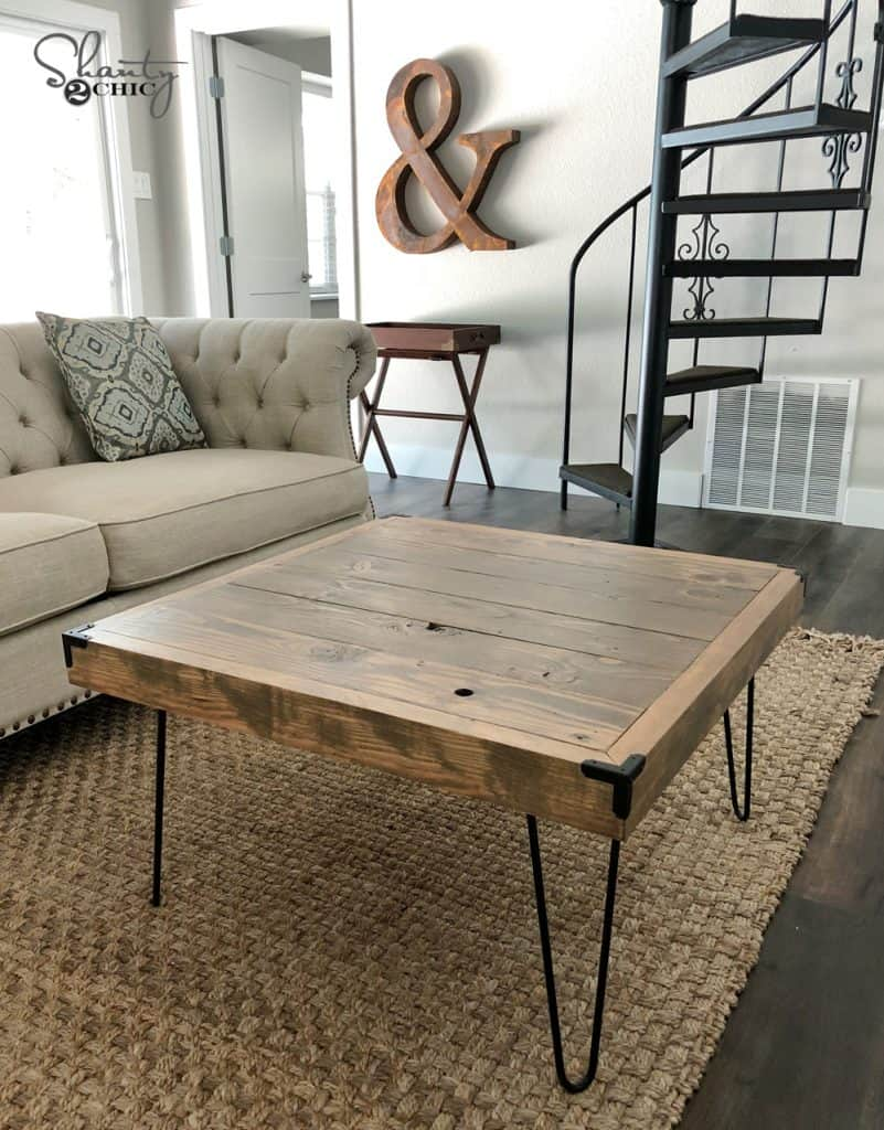 30 Easy Diy Farmhouse Coffee Table Projects With Free Plans