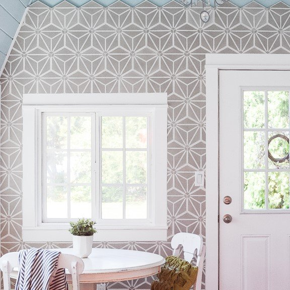 How to Install a Cement Tile Accent Wall DIY Tutorial ...