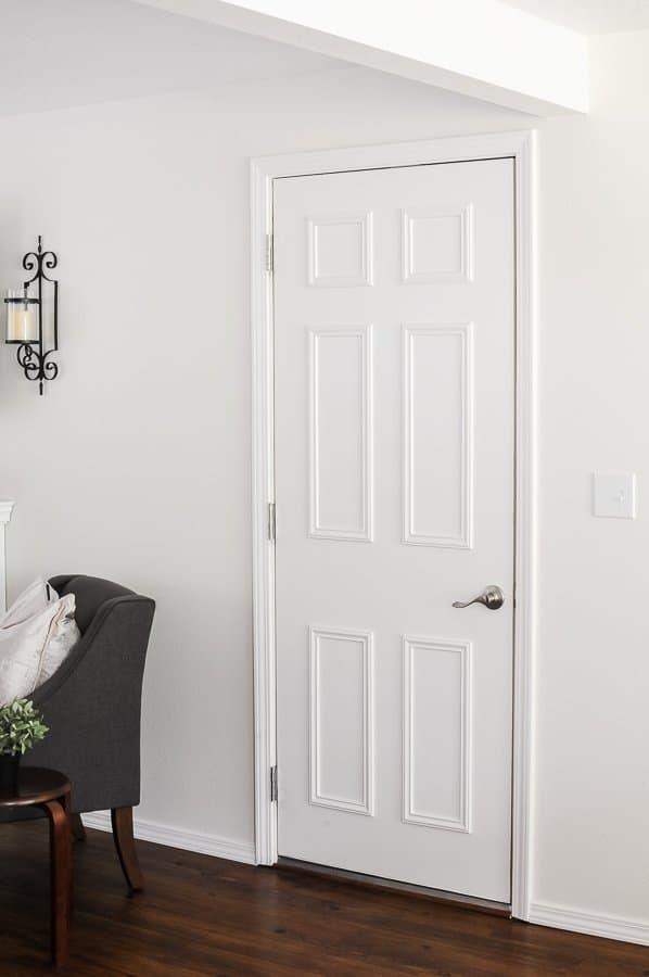 Easy Flat To 6 Panel Interior Door Makeover Joyful