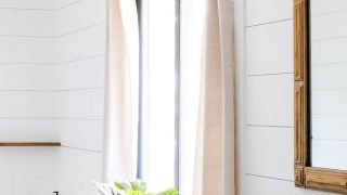 How to Make No-Sew DIY Drop Cloth Curtains the Easy Way!