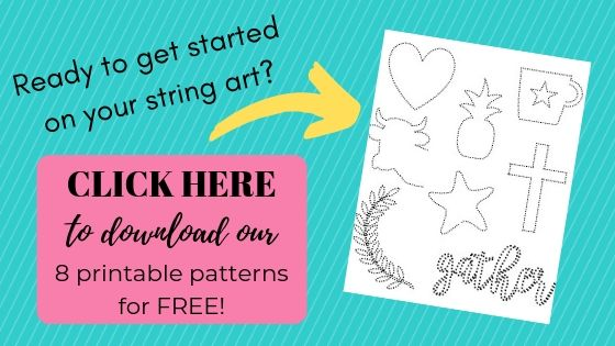 Easy and Free String Art Patterns and Directions! - Joyful Derivatives