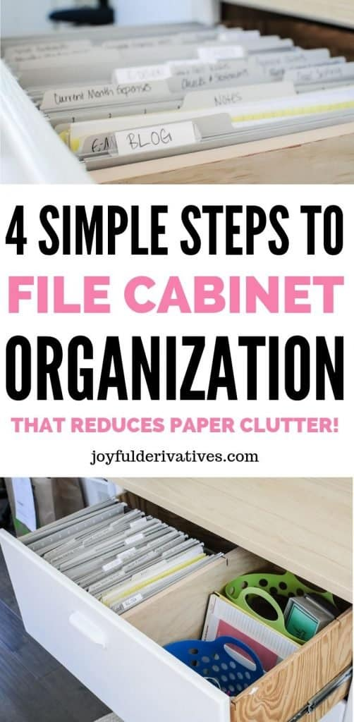 Perfect File Cabinet Organization In 4 Simple Steps Joyful Derivatives