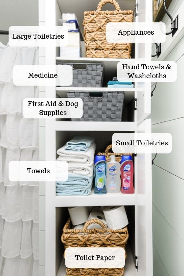 How To Organize A Bathroom Closet The, How To Organize Bathroom Closet