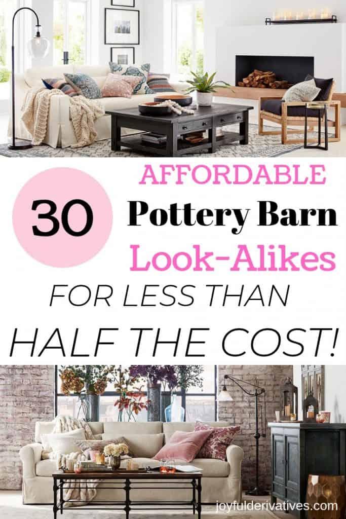 30 Fabulous Pottery Barn Look Alikes For Half The Cost Joyful Derivatives