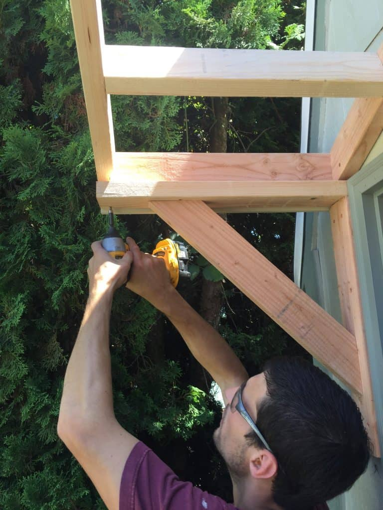 How To Build A Gable Roof Over A Front Door Joyful Derivatives