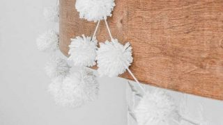 Make a Perfect DIY Pom Pom Garland in 10 Minutes!