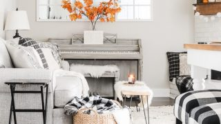 12 Cheap & Easy Fall Living Room Decor Ideas