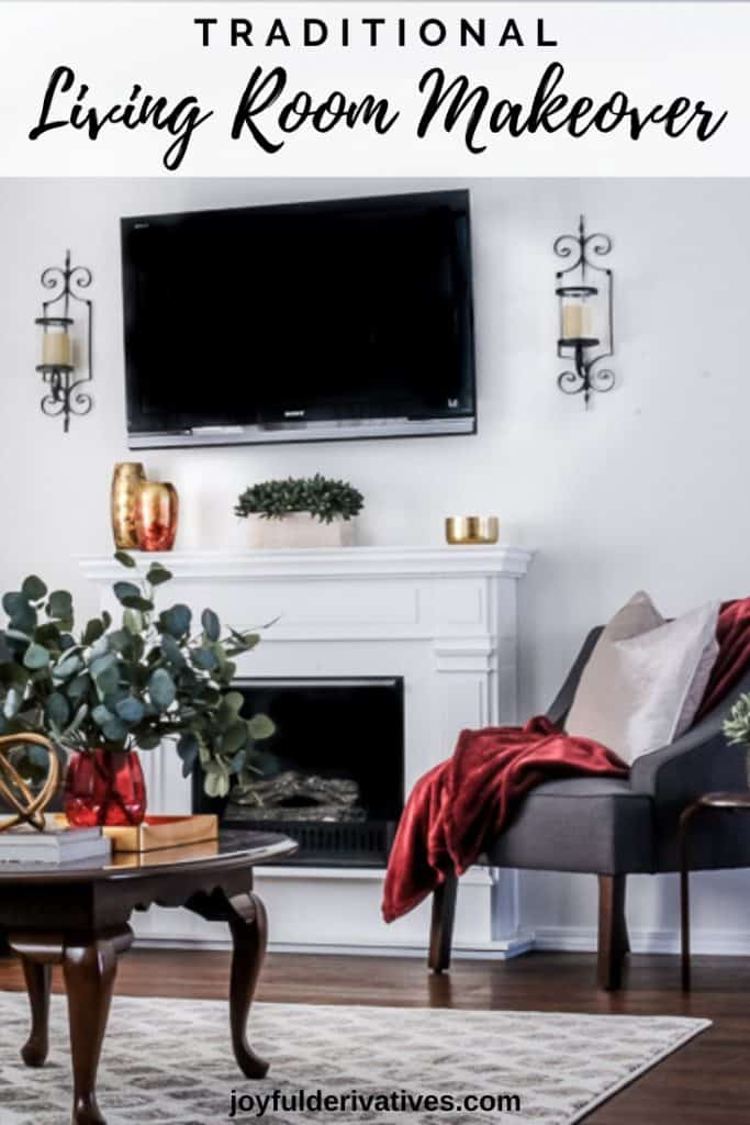 A Stunning Traditional Living Room Makeover