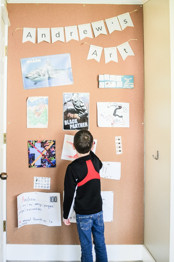 How To Build Install Removable Corkboard Walls Joyful Derivatives