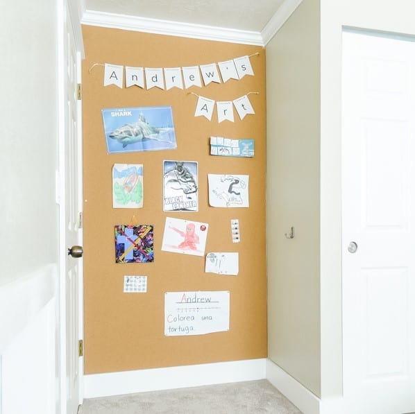 DIY Corkboard Walls