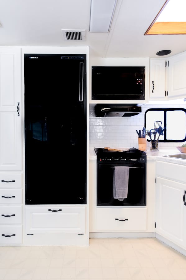 How to Paint RV Cabinets the Easy Way - Joyful Derivatives