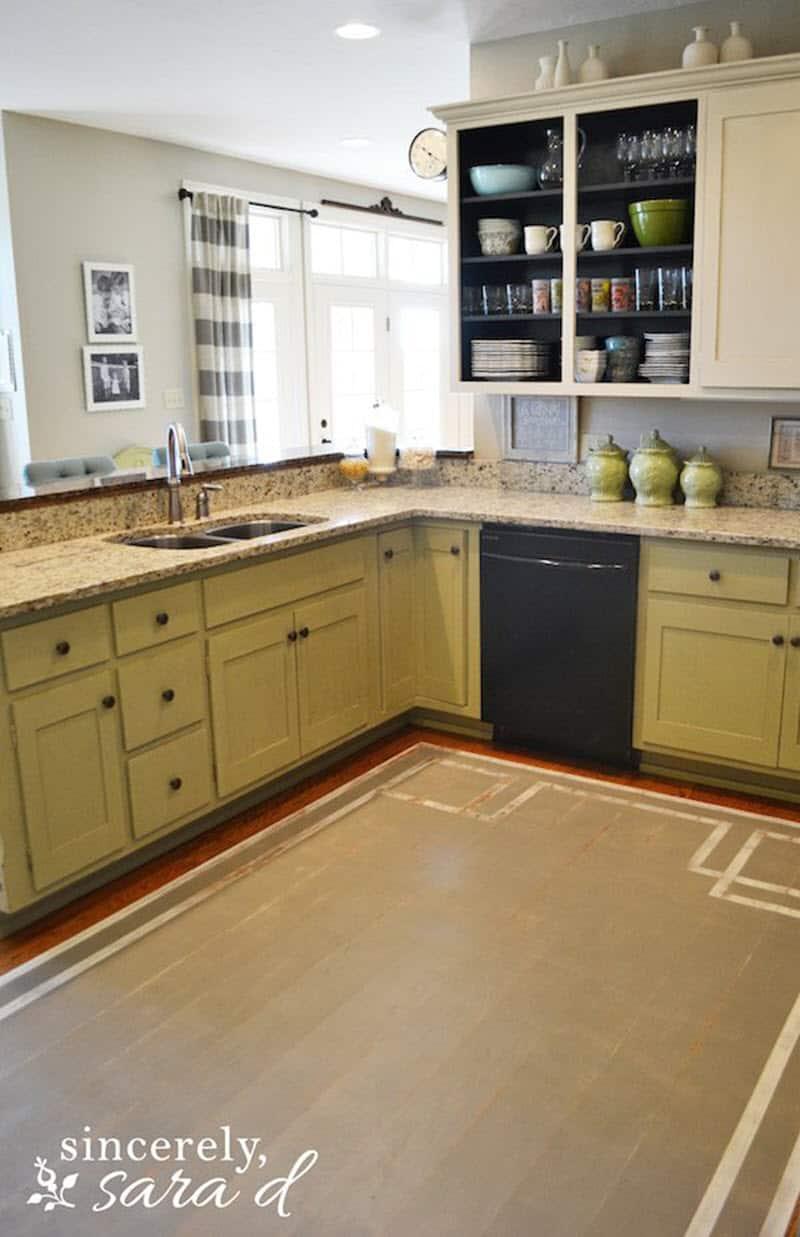 9 Cheap Flooring Ideas   Stunning DIY Floors to Try   Joyful ...