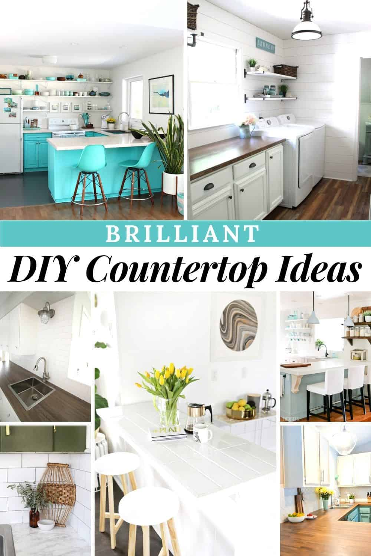 13 Brilliant Diy Countertop Ideas With Instructions Joyful Derivatives