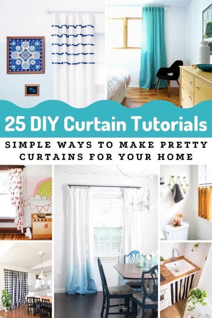 Diy Curtains 25 Easy Ways To Make Your Own Joyful Derivatives