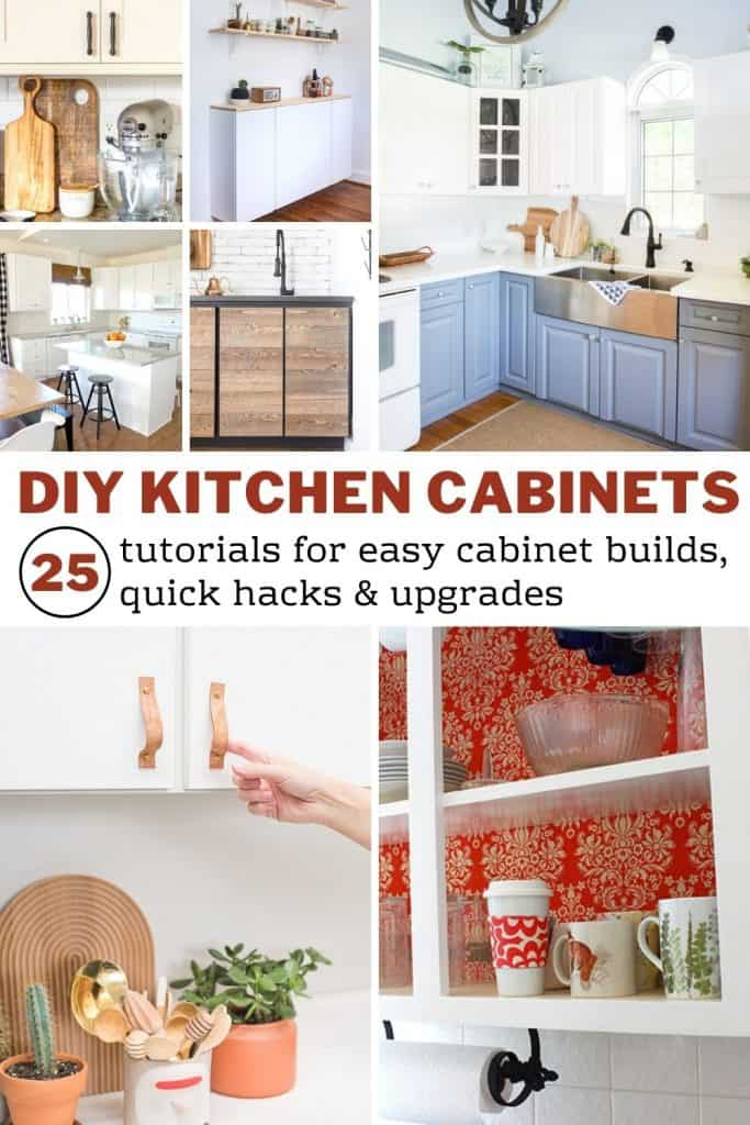 Diy Kitchen Cabinets 25 Cheap And Easy Ideas For An Update Joyful Derivatives